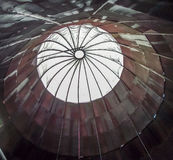 Cyclone. The dome of a sawdust separator cyclone of an abandoned sawmill Stock Photography