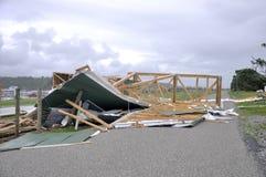 Cyclone Ita damage Stock Photo