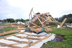 Cyclone Ita damage Stock Images