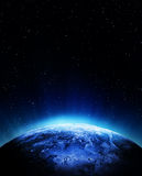 Cyclone from space Royalty Free Stock Photo