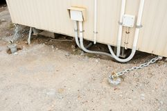 Cyclone Tie Down Chain. In the Outback Stock Images