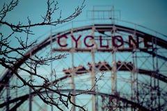 Cycloonachtbaan Royalty-vrije Stock Foto