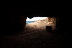 Cyclop's Cave exit. Protaras, Cyprus Stock Photos