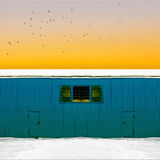 Cyclop warehouse Stock Images