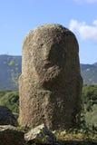 Cyclopean murverk och menhirs på kullarna av Filitosa som är sydliga royaltyfri foto