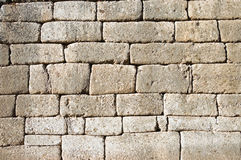 Cyclopean Wall Royalty Free Stock Image