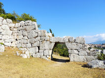 Cyclopean Walls Stock Image