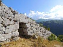 Cyclopean Walls Stock Photo