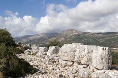 Cyclopean Walls at Krani Stock Photo