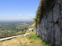 Cyclopean Walls Stock Image