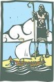Cyclopes και Odysseus Στοκ εικόνες με δικαίωμα ελεύθερης χρήσης