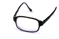 Cyclopic eye glasses Stock Image
