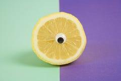Cyclops lemon Royalty Free Stock Photo