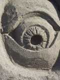 Cyclops Made out of Sand Stock Images