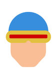 Cyclops Vector. Cyclops Illustration, marvel  art Royalty Free Stock Photography