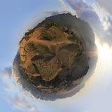Cyclorama of Kuray mountain range and North Chuya Royalty Free Stock Photo