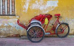 Cyclos human transportation, Saigon, Vietnam Stock Photo