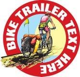 Cyclotourist Stock Image