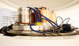 Cyclotron machinery for radionuclides synthesis and isotope production Royalty Free Stock Images