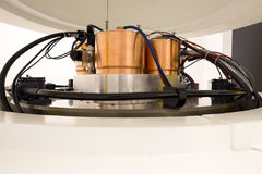 Cyclotron machinery for radionuclides synthesis and isotope production Stock Photography