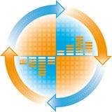 Cyclus stock illustratie