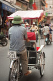 Cycro in Hanoi,Vietnam. Stock Photos