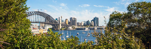 Cydney Blick auf Harbour Bridge. Sydney Blick auf Harbour Bridge Royalty Free Stock Photos