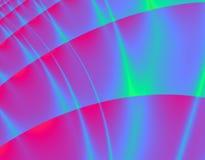 cyfrowa aurora. Fotografia Stock