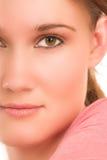 cyfrowa grafiki twarz Obraz Royalty Free