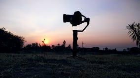 Cyfrowa kamera - fotografia obraz royalty free