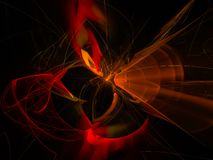 , cyfrowa piękna fractal chaosu metafory prezentacja, trendu ruchu trendu projekta magiczny abstrakcjonistyczny szablon ilustracji