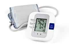 Cyfrowego ciśnienia krwi monitor Obrazy Royalty Free