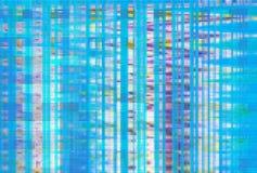 Cyfrowego hałasu tła usterki ekran, interferencji wykoślawienie ilustracja wektor