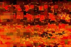 Cyfrowego hałasu tła usterki ekran, wykoślawienie ilustracji
