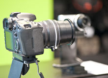 Cyfrowego kamer sklep fotografia stock