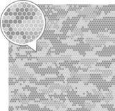 Cyfrowego kamuflażu bezszwowi wzory ilustracja wektor