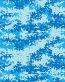 Cyfrowego kamuflażu modny wzór Zdjęcie Stock