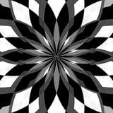 Cyfrowego obrazu Abstrakcjonistyczny Czarny I Biały tło ilustracja wektor