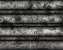 Cyfrowego obrazu metalu płytki Nieociosana tekstura z Srebnym koloru tłem obrazy stock