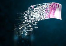 Cyfrowego pieniądze Obraz Stock