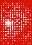 cyfrowego pokazu czerwień Obrazy Stock
