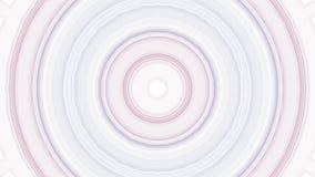 Cyfrowego projekt szarość i purpur okręgi ilustracji