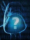 Cyfrowego pytanie Fotografia Stock