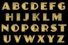 Cyfrowego Scrapbook abecadła wodewilu markiza Fotografia Royalty Free
