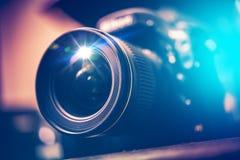 Cyfrowego SLR kamera obraz stock