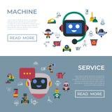 Cyfrowego wektoru czyścić i usługi domowa maszyna zdjęcia stock