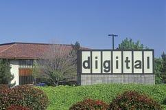 Cyfrowego wyposażenia firma w Santa Clara, Krzemowa Dolina, Kalifornia zdjęcie stock