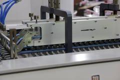 Cyfrowej etykietki produkci maszyna Obraz Stock