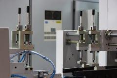 Cyfrowej etykietki produkci maszyna Obrazy Stock