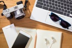 Cyfrowej fotografii lub planowania fotografii wakacje pojęcie Fotografia Royalty Free